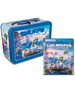 Los Pitufos en la Aldea Perdida Blu-Ray + Lonchera
