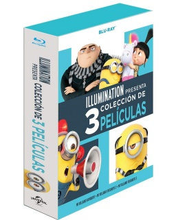 Mi Villano Favorito Colección de las Tres películas en Boxset