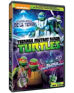 Teenage Mutant Ninja Turtles: Temporada 4 V3 y V4